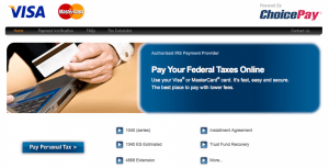 Paying your taxes through Choice Pay can be a cost-effective way of unloading your Visa gift cards