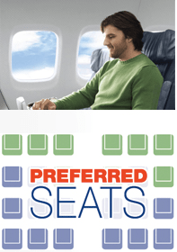 Most domestic airlines offer the opportunity to pay for Preferred Seating.