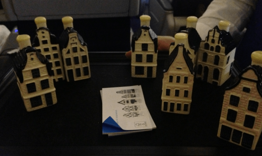 The gift of a Delft Miniature house is always a treat, especially when it is filled with