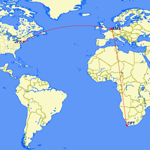 Wish me luck as I set off on my 9,000-mile journey!