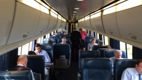 Train Review Amtrak Acela First Class