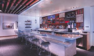 The bar area of the Centurion Las Vegas.