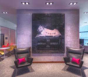 The Centurion Lounge in Las Vegas
