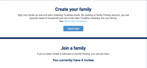 I never thought an airline would ask me to create a family!