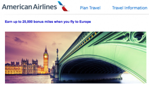 Current Airline Bonus Miles Promotions October 2013