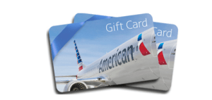 A $50 American Airlines gift card is a great way to use up your reimbursement.