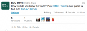 Test your global knowledge with @BBCTravel.