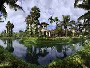 The beautiful Sofitel Angkor in Siem Reap.