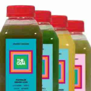 The four-juice Platinum Clarity Cleanse from Dallas