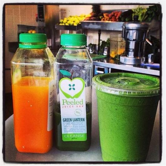 Green Lantern cleanse at Chicago's Peeled