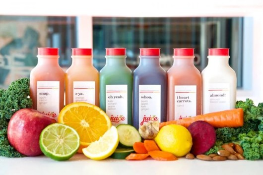 The juices at Juice Nashville have fun, simple names.