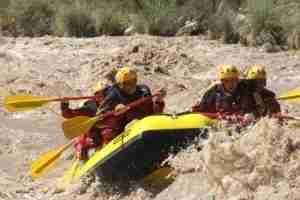 If you are looking for a little adventure, try the white water rafting trips by Rios Andinos.