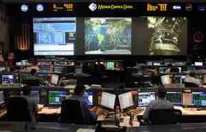 Mission Control at Johnson Space Center - photo by Christopher Ebdon
