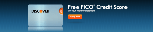 Discover It cardholders get their FICO score on their monthly statement.