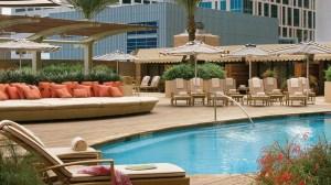 Pool at the Four Seasons Hotel Houston