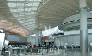 Interior of Hobby Airport