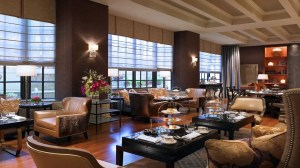 The afternoon tea room at The St. Regis Houston