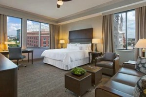 Corner Suite at The Westin Houston Downtown