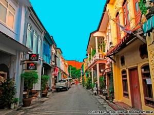 Old Town Phuket.