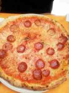 Some pizza from Bella Napoli.