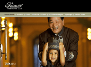 Double miles and discounts for Fairmont President