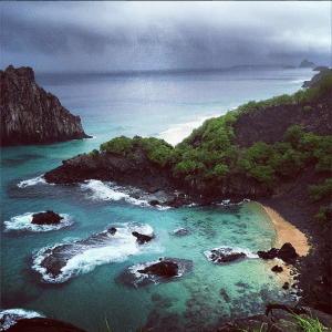 My ultimate destination - Baia do Sancho on Fernando de Noronha, Brazil.