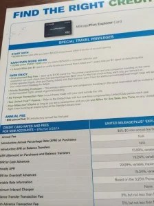 50,000 miles for the United Explorer card- better than the standard 30,000
