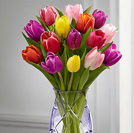 These tulips are $55 at FTD.com. This means you could earn 1925 Delta Skymiles for purchasing this at 35 miles per dollar.