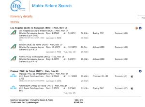 These fare classes earn 100% mileage.