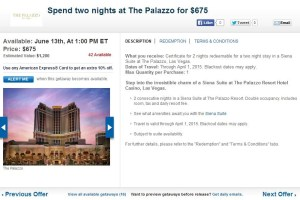 Las Vegas hotel packages