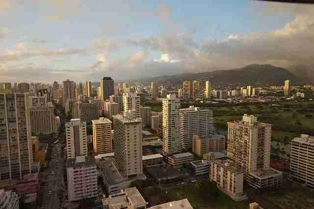 View of Waikiki