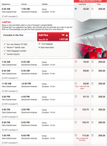 Fares can vary a lot.
