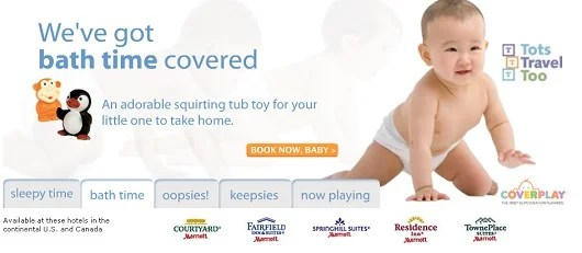 You don't have to visit the Lufthansa First Class lounge to offer your child a free bath toy.