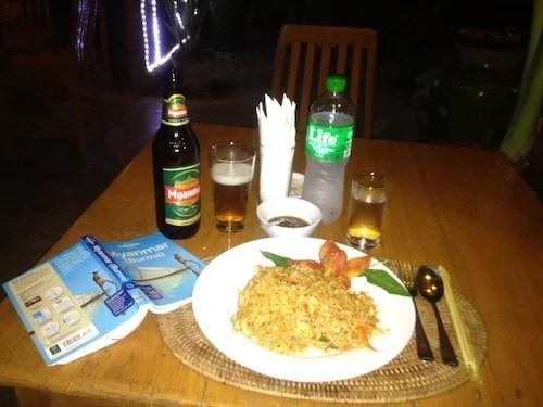 For dinner, I felt like noodles.