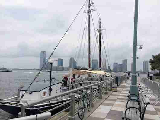 The decks of Grand Banks awaits for lobster roll (and oyster) heaven