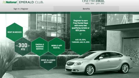 National Car Emerald Club Reviews