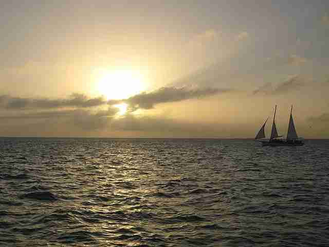 While in Key West, hop aboard a schooner and sail off into the sunset (photo by Melanie Wynne)