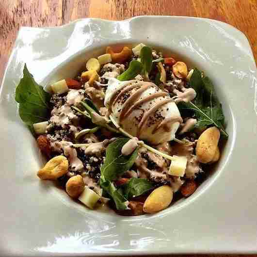 Dig into one of the delicious and creative salads at Bio Natural
