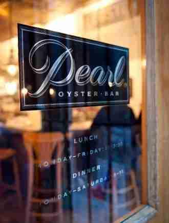 Always a classic, Pearl Oyster Bar