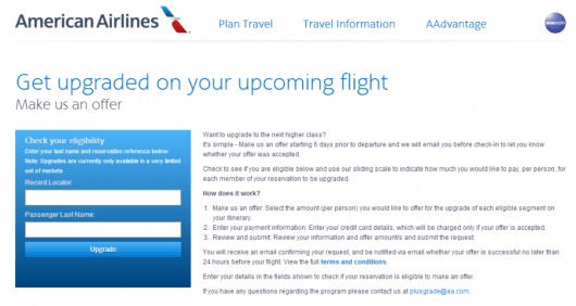 Carriers like American have figured out new ways to make flyers pay for upgrades.