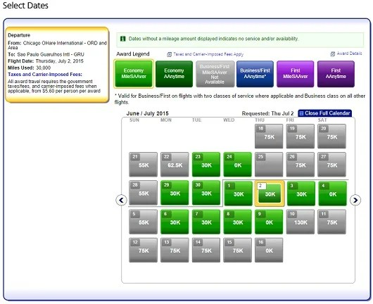 I was able to find many dates for next summer with four American Airlines Award seats available in economy class.