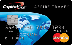 The Capital One Aspire World MasterCard