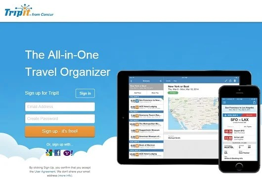 Tripit is one of the leading travel management sites that also supports loyalty program tracking.