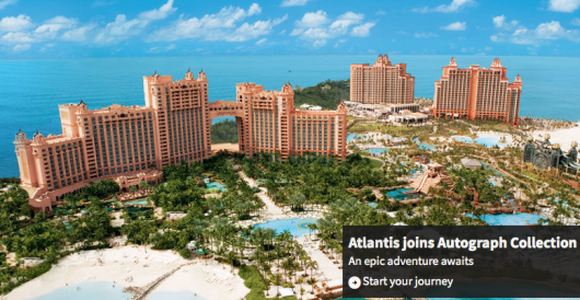 Atlantis is now under the Marriott umbrella