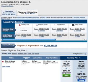 Capital One flights