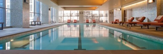 You can transfer Ultimate Rewards points to Hyatt to redeem at the Hyatt Olive 8 in Seattle.