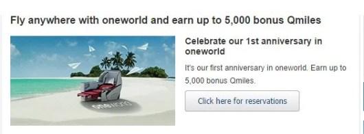 Get up to 5,000 bonus Qmiles