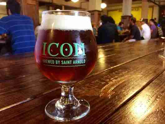 Tasty cold ones on tap at Saint Arnold Brewery