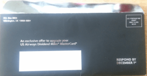 Be sure to check your mail to see if you received an upgrade offer.