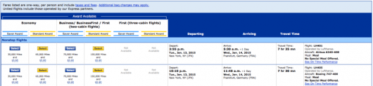 United would charge you more just to fly their own business class!